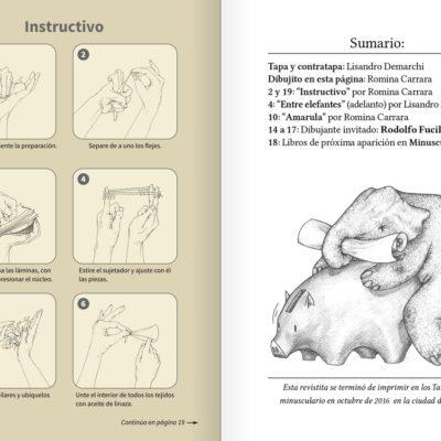 Revista minúscula nº 1: Elefantes
