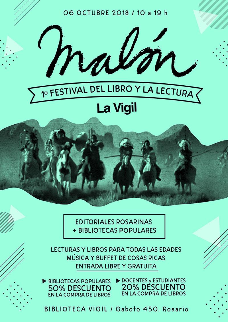 Malón, festival del libro y la lectura