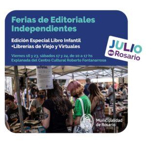 Feria de Editoriales Independientes en Rosario 2021